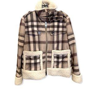 Burberry Shearling Pilot Coat